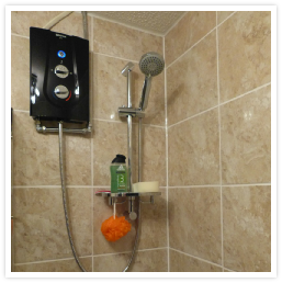 electric shower swap installation